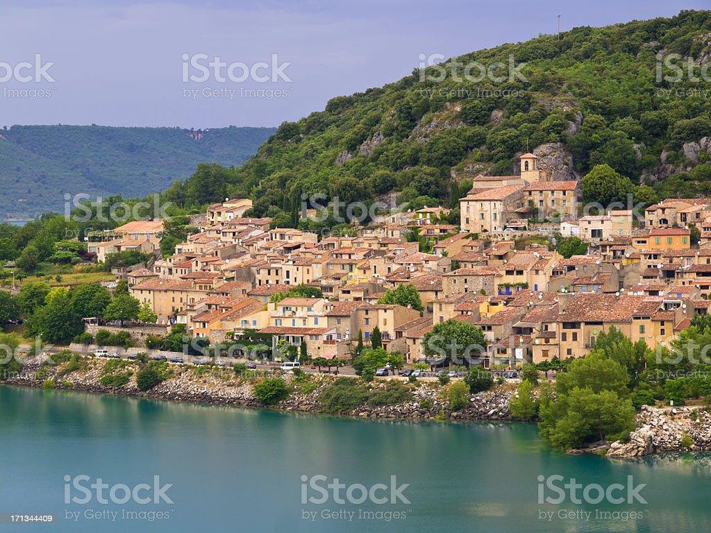 Verdon Provence stock photo