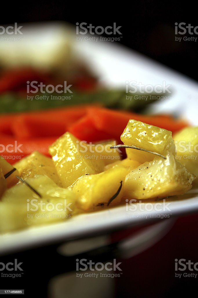 verdure grigliate royalty-free stock photo