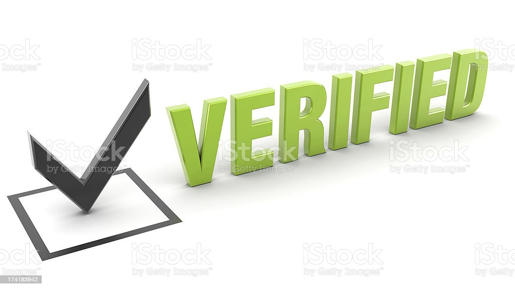verified royalty-free stock photo