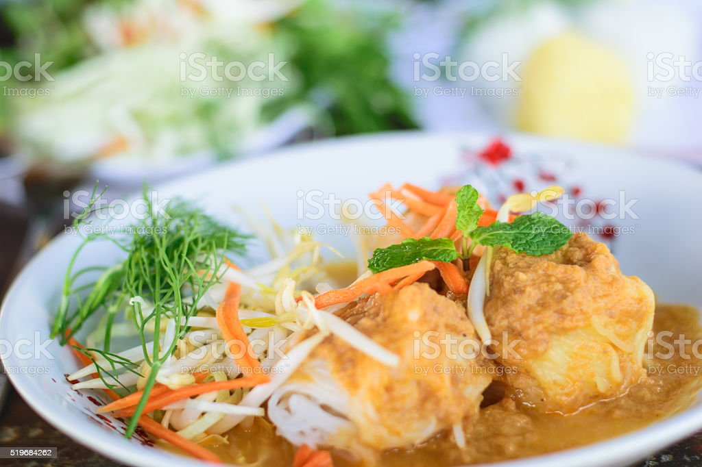 vermicelli rice noodles stock photo
