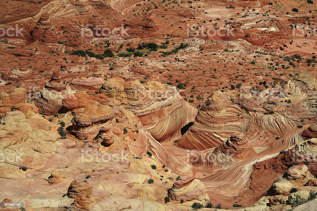 Vermilion Cliffs Overlook royalty-free stock photo