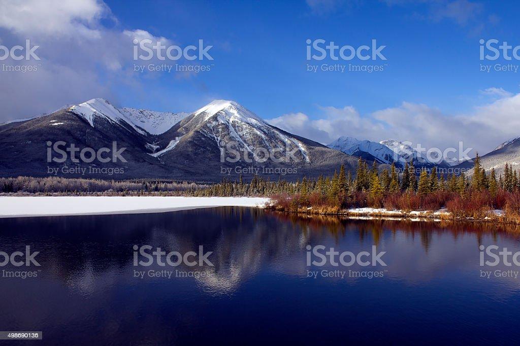 Vermilion Lake royalty-free stock photo