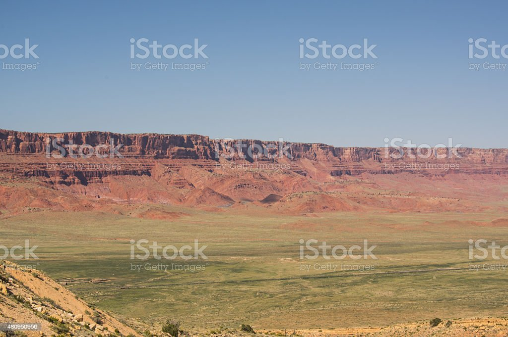 Vermillion Cliffs, Arizona royalty-free stock photo