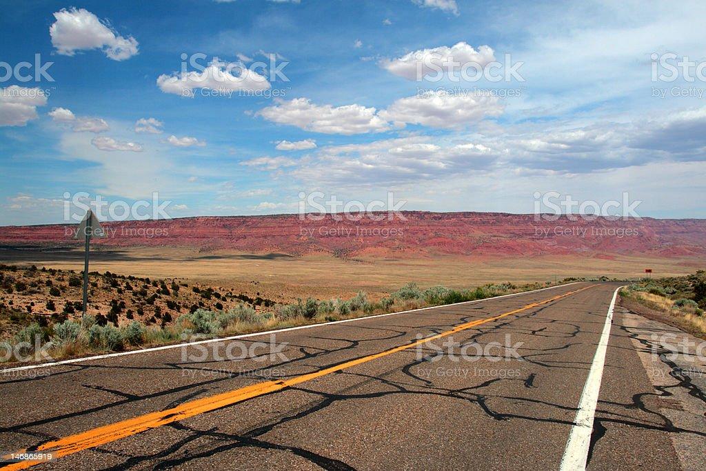 Vermillion Cliffs, Arizona, USA royalty-free stock photo