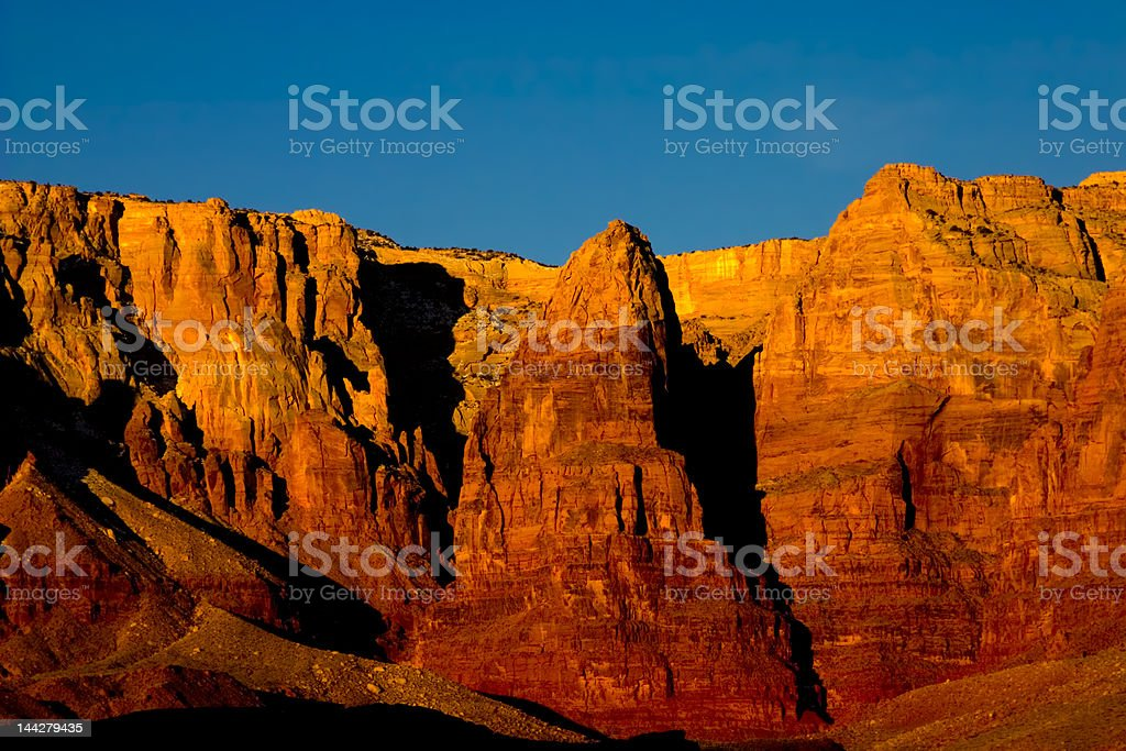 Vermillion Cliffs at sunrise royalty-free stock photo