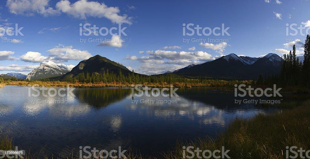 Vermillion Lake royalty-free stock photo