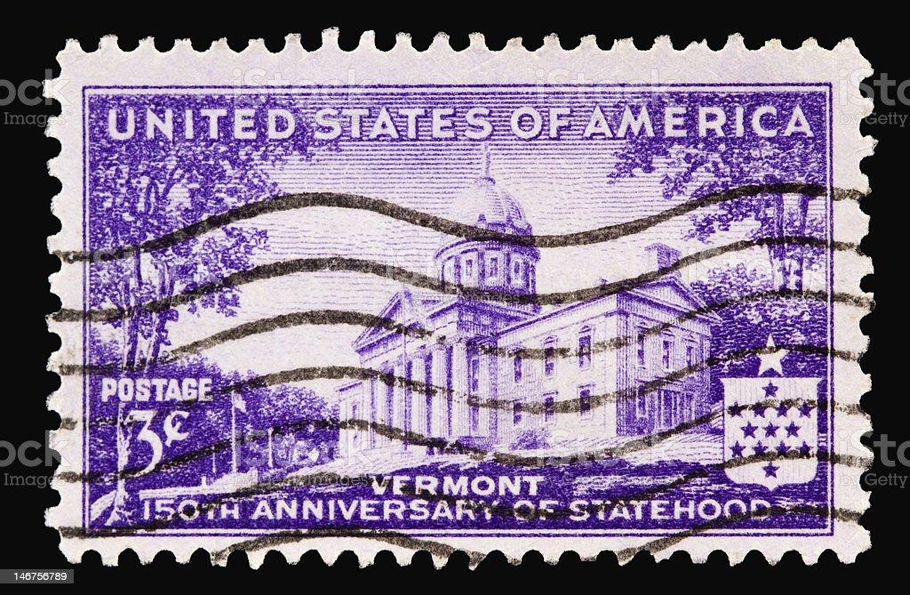 Vermont 1941 royalty-free stock photo