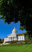 Vermont State House Architecture, United States
