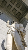 Vermont State House Entrance Statue, United States