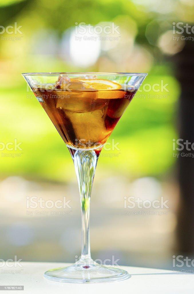 Vermouth stock photo