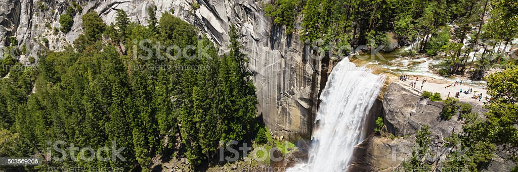 Vernal Fall stock photo