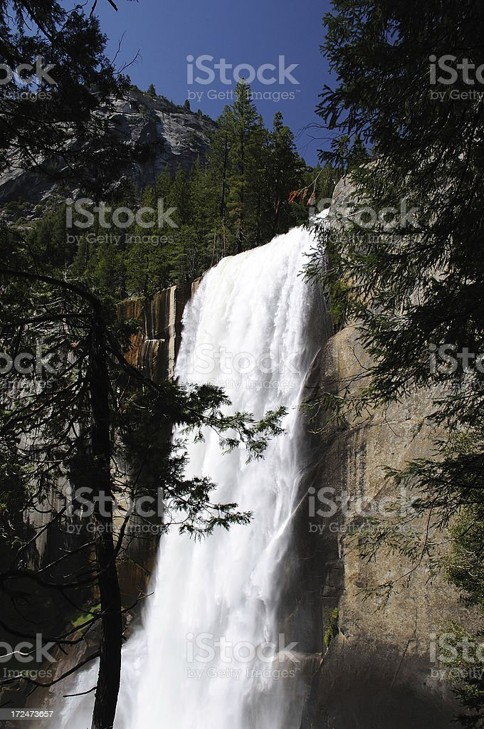 Vernal Falls in Springtime royalty-free stock photo