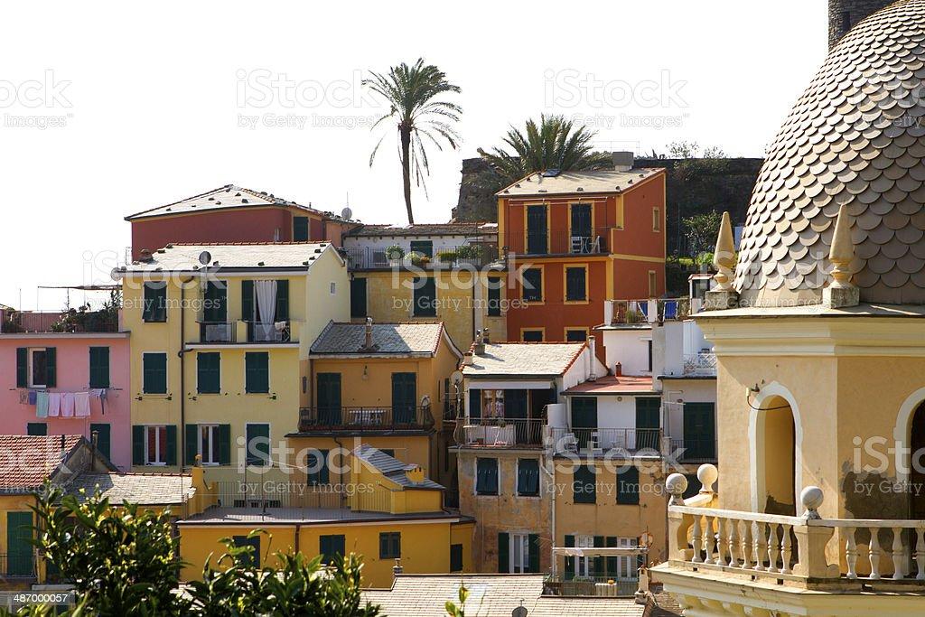 Vernazza, Cinque Terre - Italy stock photo