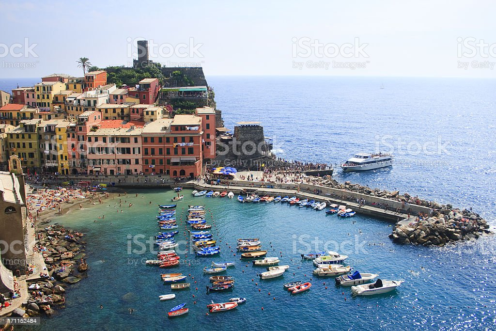 Vernazza, Cinque Terre royalty-free stock photo