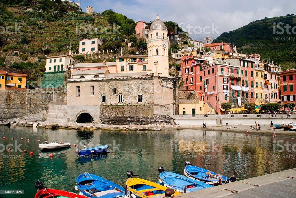 Vernazza, Italy (Cinque Terre) stock photo