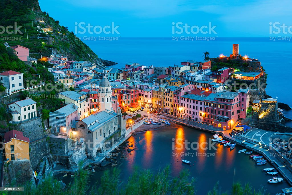 Vernazza, Italy stock photo