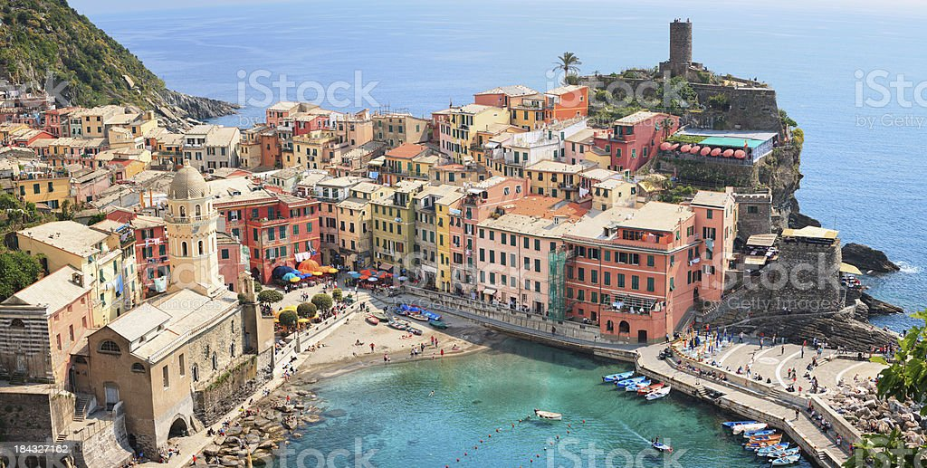 Vernazza royalty-free stock photo