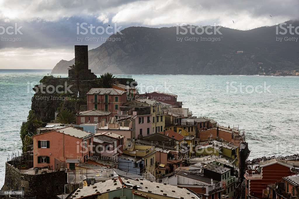 Vernazza stock photo