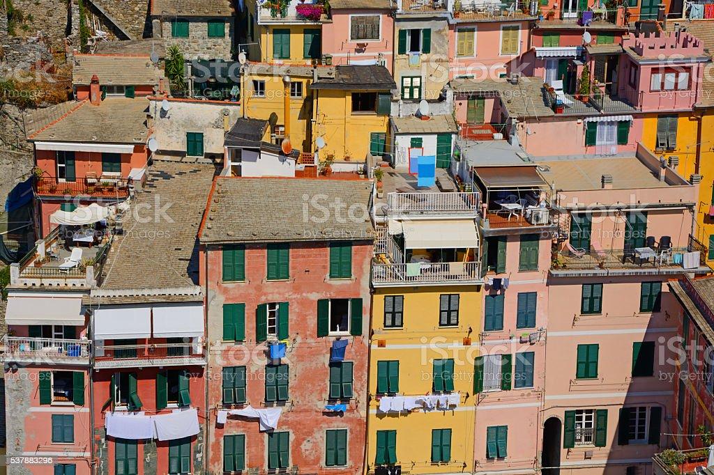 Vernazza stock photo