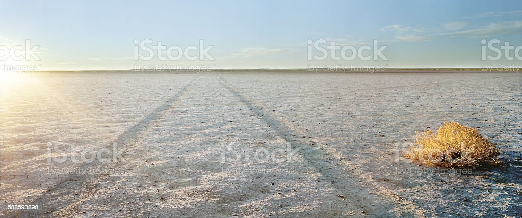 Verneukpan, Northern Cape, South Africa stock photo
