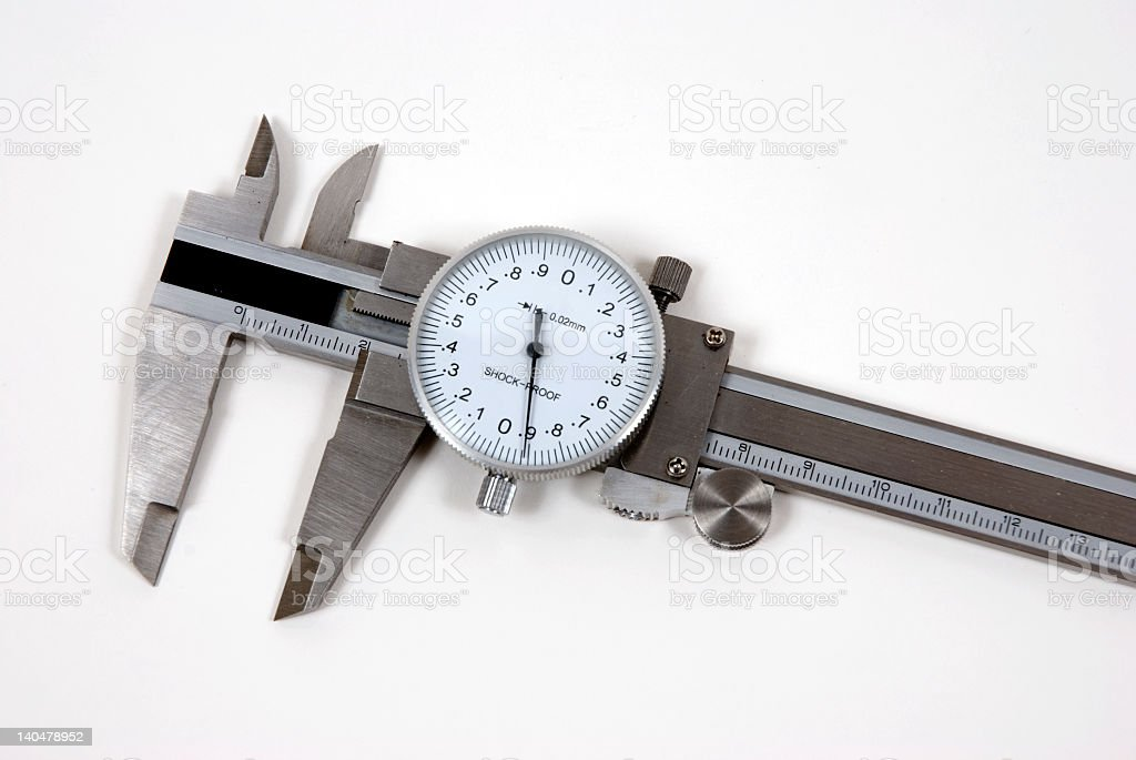 Vernier Caliper stock photo