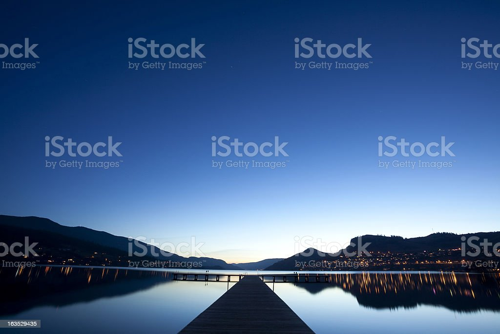 Vernon British Columbia royalty-free stock photo