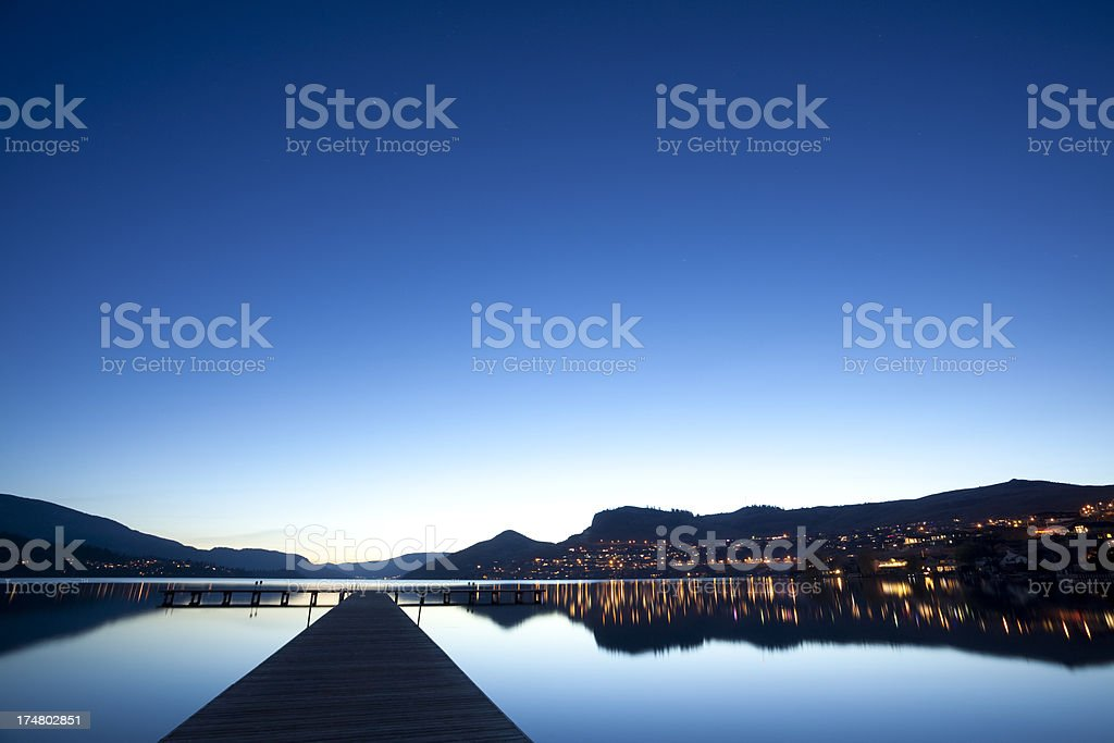 Vernon British Columbia stock photo