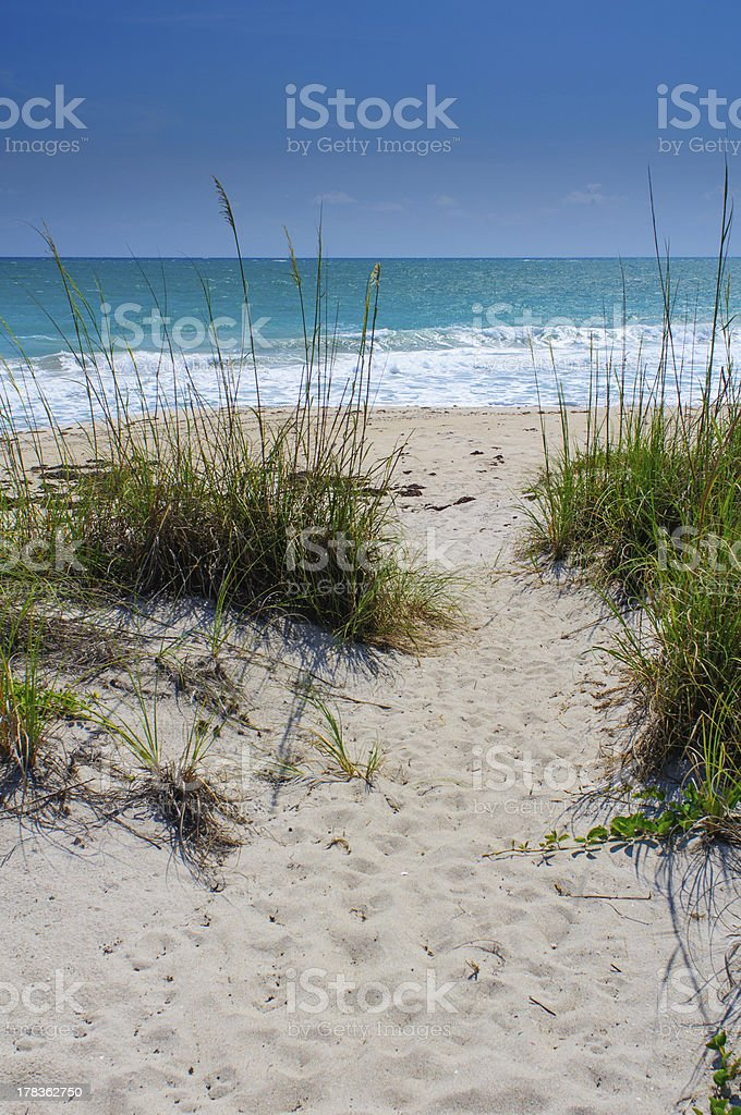 Vero Beach Florida stock photo