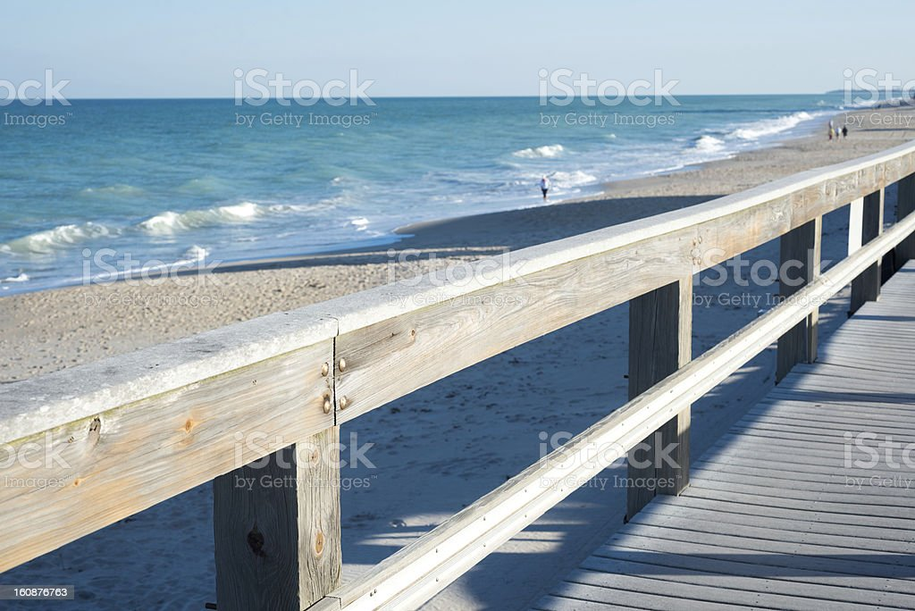 Vero Beach in Florida stock photo