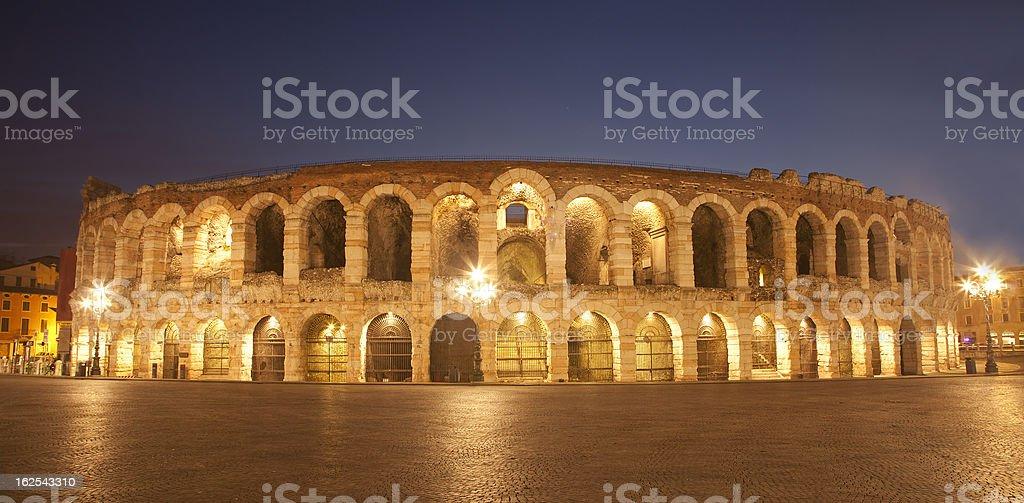 Verona - Arena in dusk royalty-free stock photo