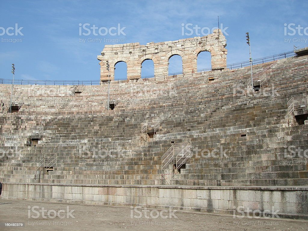 Verona arena royalty-free stock photo