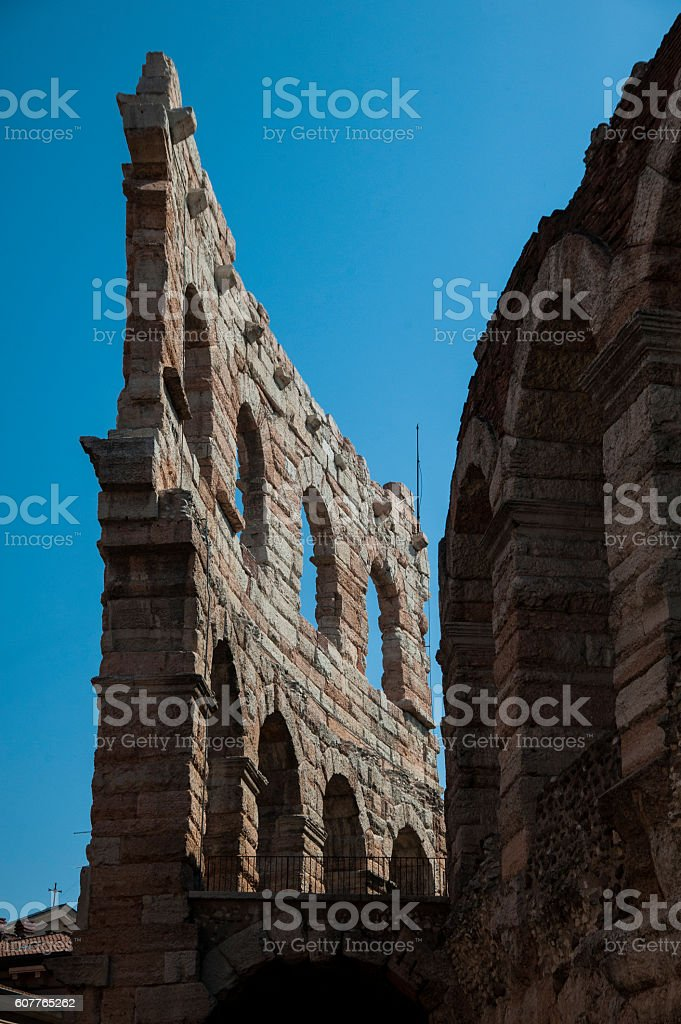 Verona Arena stock photo