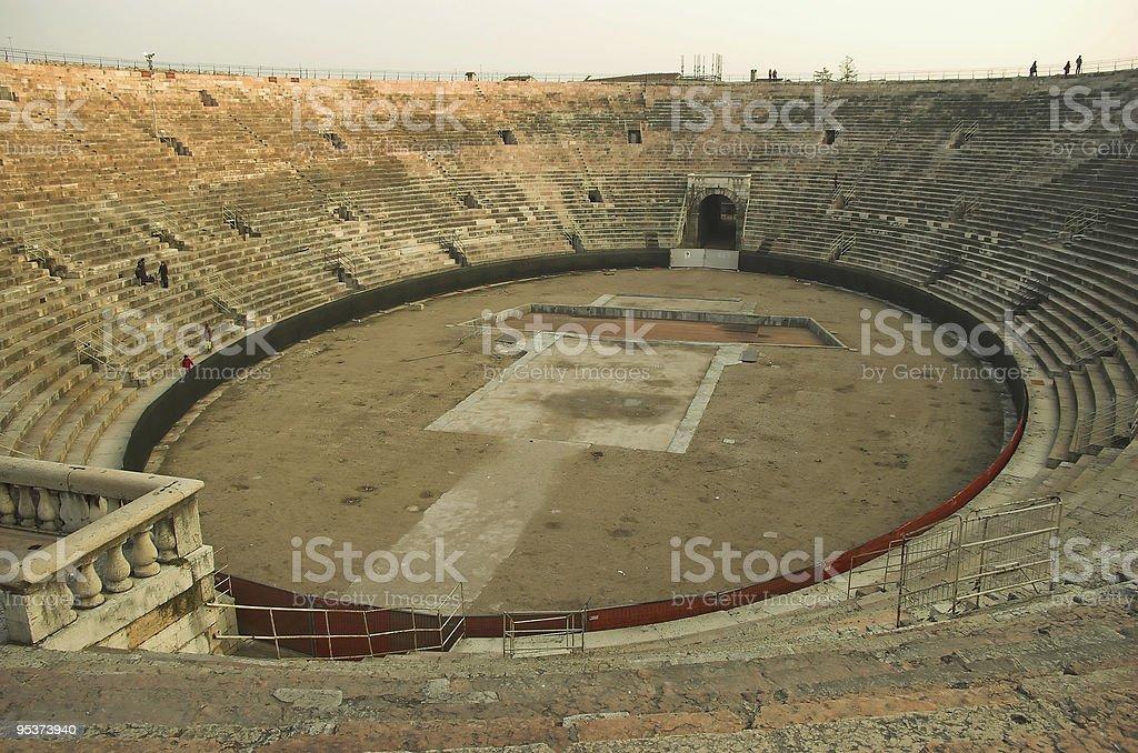 Verona colisseum royalty-free stock photo