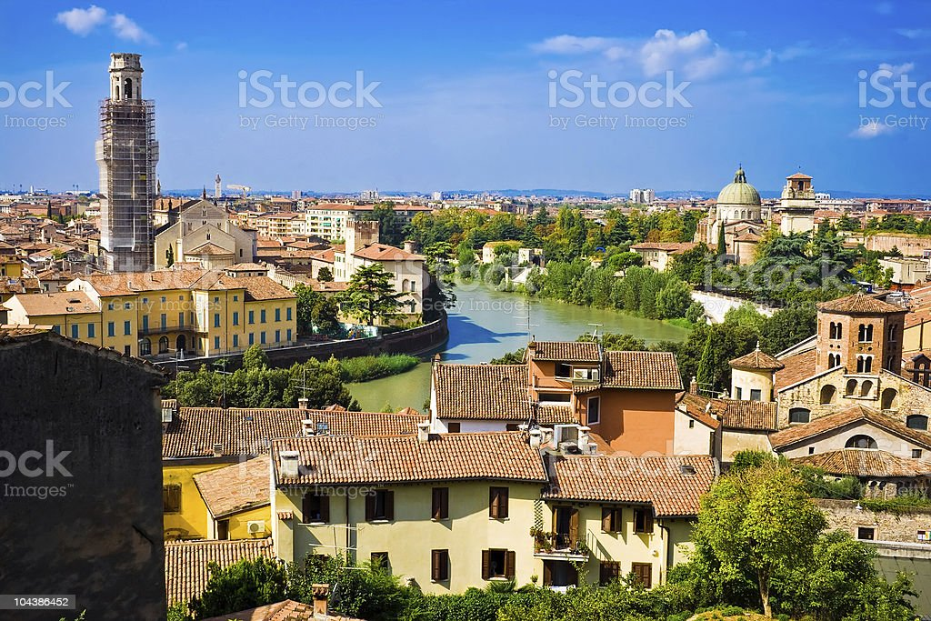 Verona stock photo