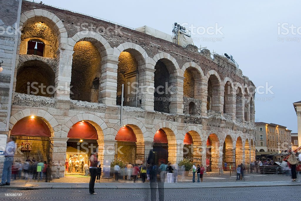 Verona's Arena stock photo