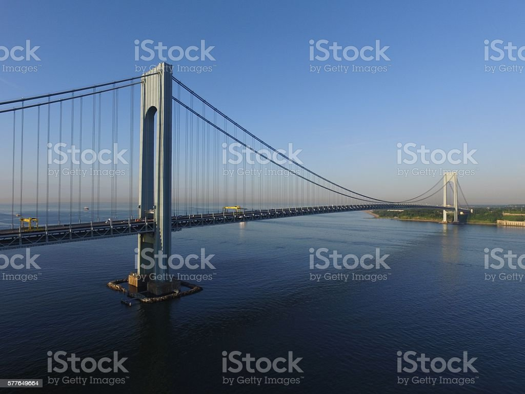 Verrazano Bridge stock photo