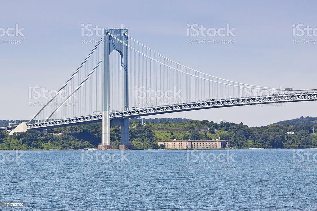 Verrazano-Narrows Bridge, New York royalty-free stock photo