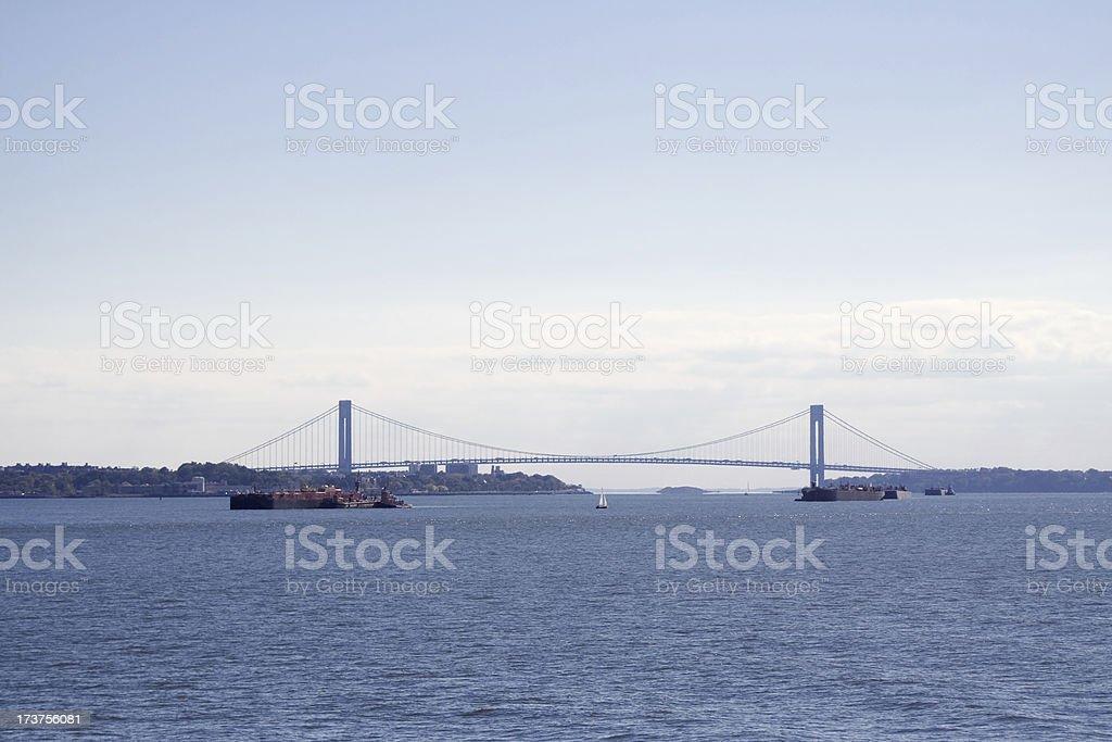 Verrazano-Narrows Bridge royalty-free stock photo