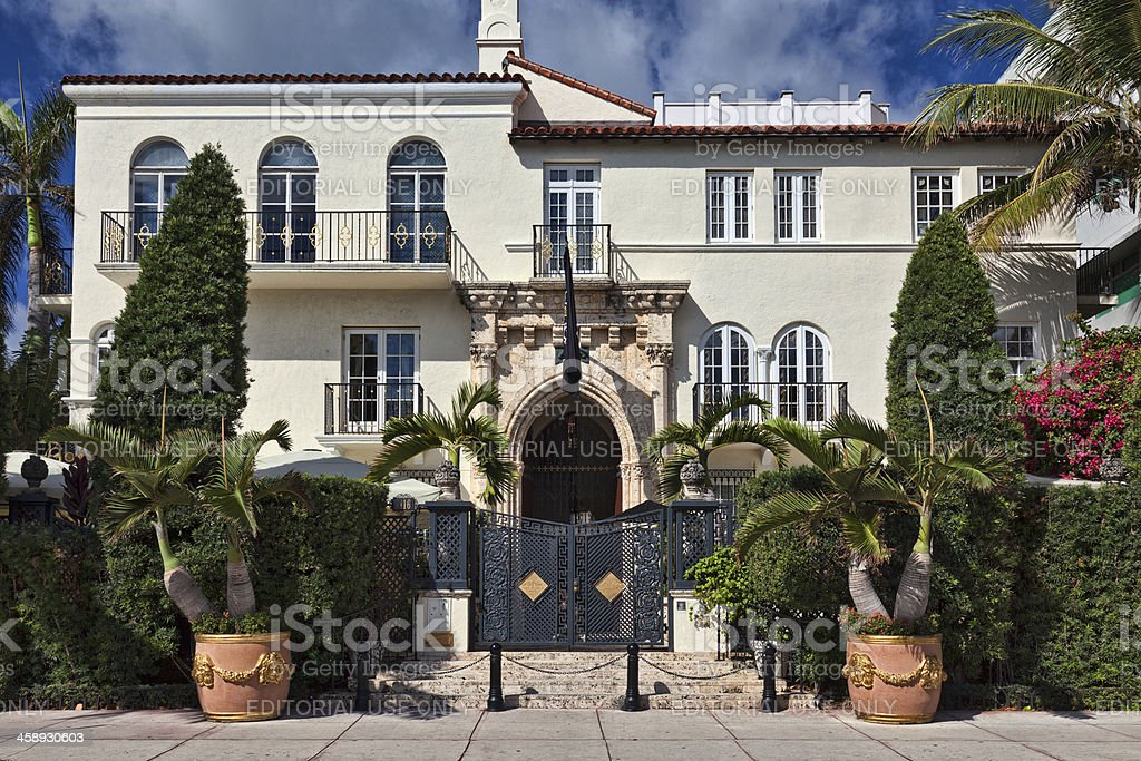 Versace Mansion stock photo