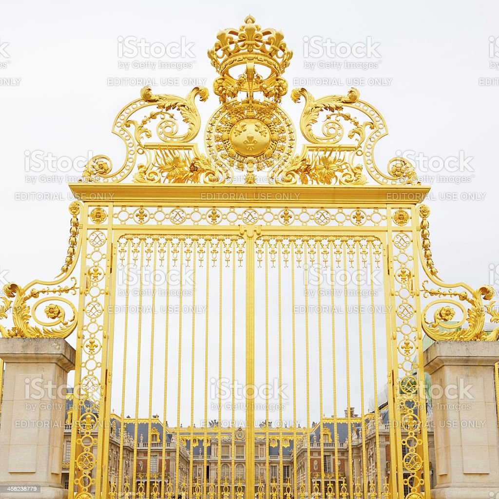 Versailles Palace, France. royalty-free stock photo