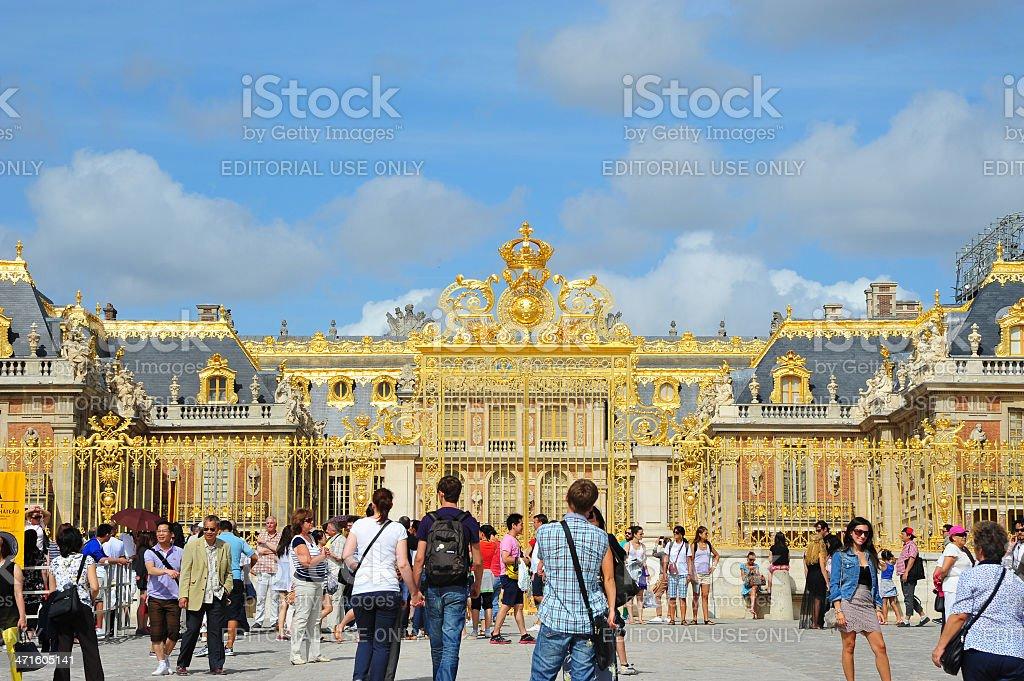 Versailles Palace, France. stock photo