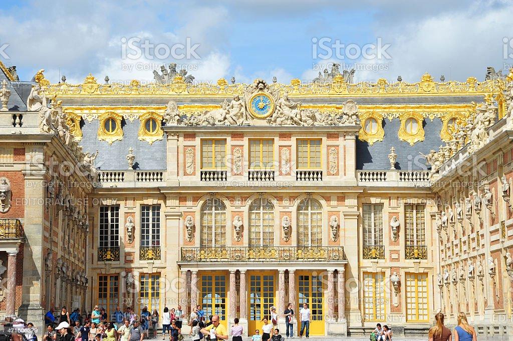 Versailles Palace, France stock photo