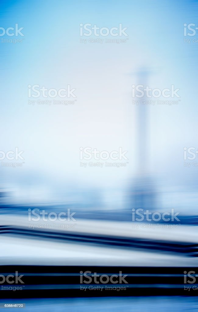 Vertical blue digital design stela abstraction stock photo