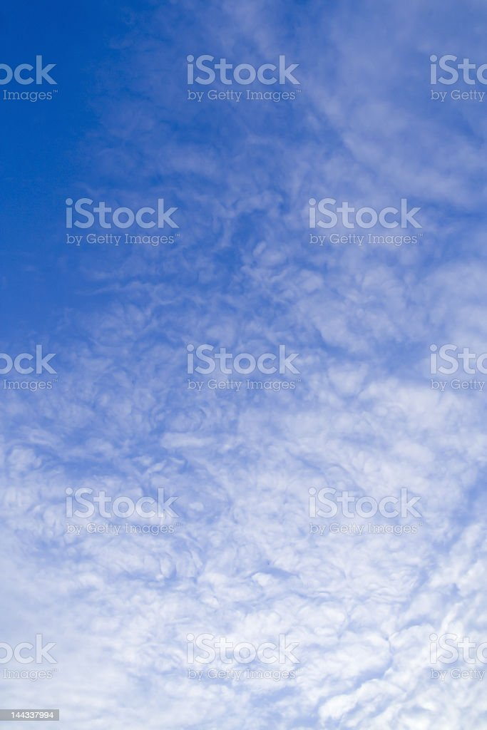 Vertical Blue Sky royalty-free stock photo