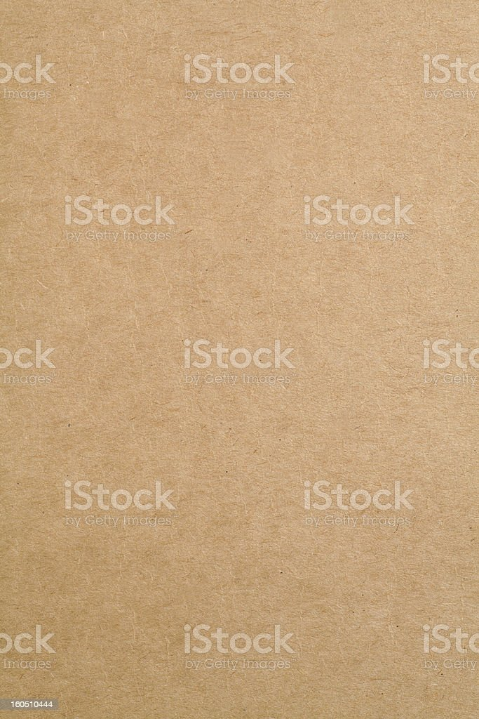 A vertical cardboard sheet of paper stock photo