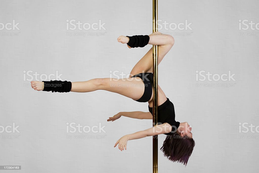Vertical Dance - Scorpion stock photo