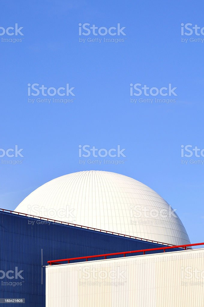 Vertical dome royalty-free stock photo