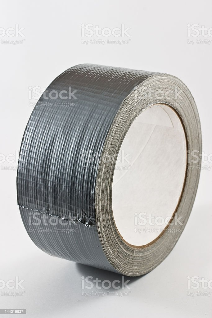 Vertical Duct Tape royalty-free stock photo