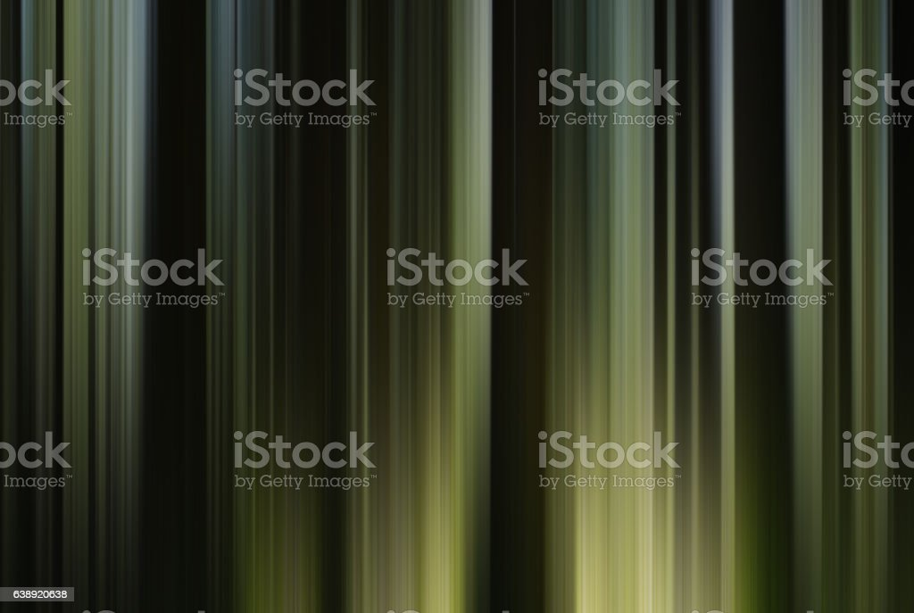 Vertical green curtain abstraction stock photo