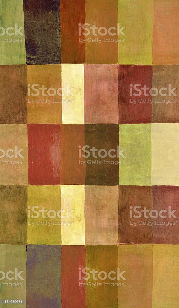 Vertical Painted Pattern royalty-free stock vector art